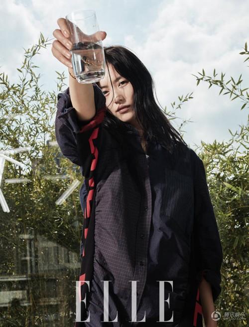 刘雯杂志封面